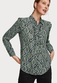 Scotch & Soda - Overhemdblouse - green - 0