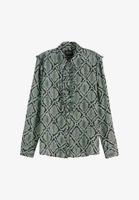 Scotch & Soda - Overhemdblouse - green - 4