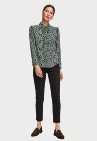 Scotch & Soda - Overhemdblouse - green - 1