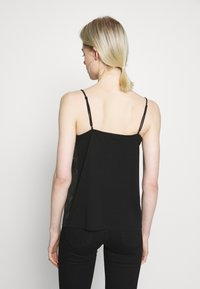 Scotch & Soda - TANK WITH FRONT PANEL - Topper - black - 2