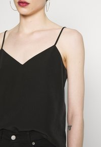Scotch & Soda - TANK WITH FRONT PANEL - Topper - black - 3