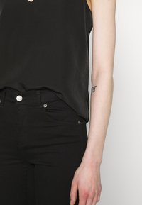 Scotch & Soda - TANK WITH FRONT PANEL - Topper - black - 6