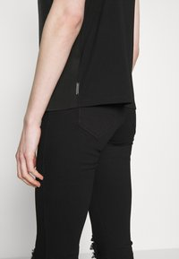 Scotch & Soda - TANK WITH FRONT PANEL - Topper - black - 4