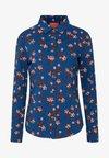 Button-down blouse - combo t