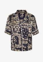 PRINTED HAWAIIAN SHORT SLEEVE - Button-down blouse - combo
