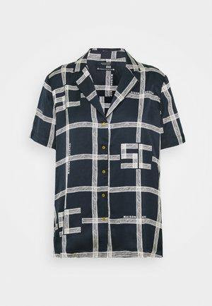 Camicia - dark blue/white