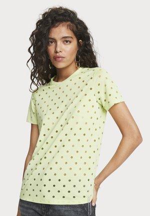 T-shirt basic - neon lime