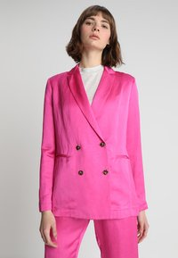 Scotch & Soda - DOUBLE BREASTED BLEND - Blazer - electric pink - 0