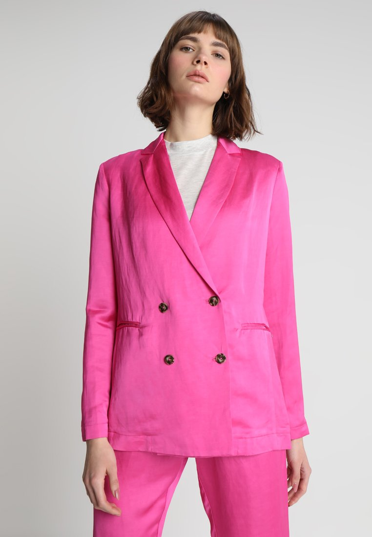 Scotch & Soda - DOUBLE BREASTED BLEND - Blazer - electric pink