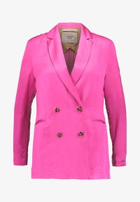 Scotch & Soda - DOUBLE BREASTED BLEND - Blazer - electric pink - 4