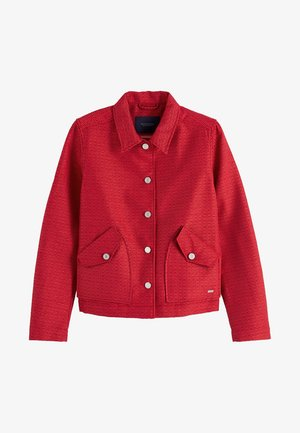 JACQUARD WORKWEAR - Summer jacket - red clash