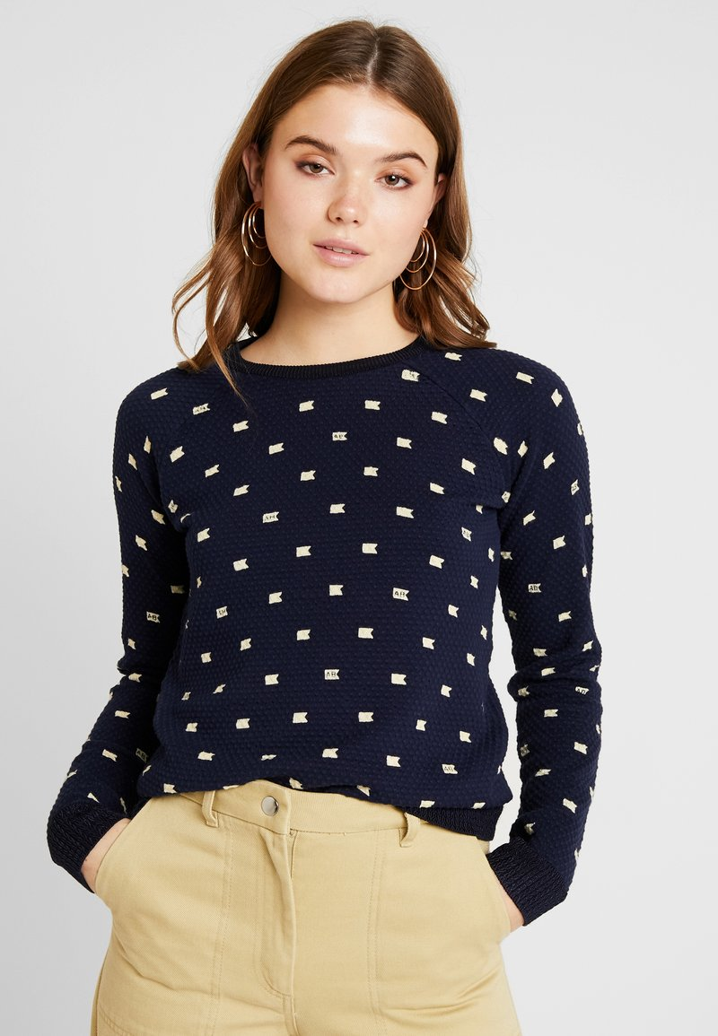 Scotch & Soda - LONG SLEEVE IN VARIOUS ALLOVER PRINT - Strickpullover - combo