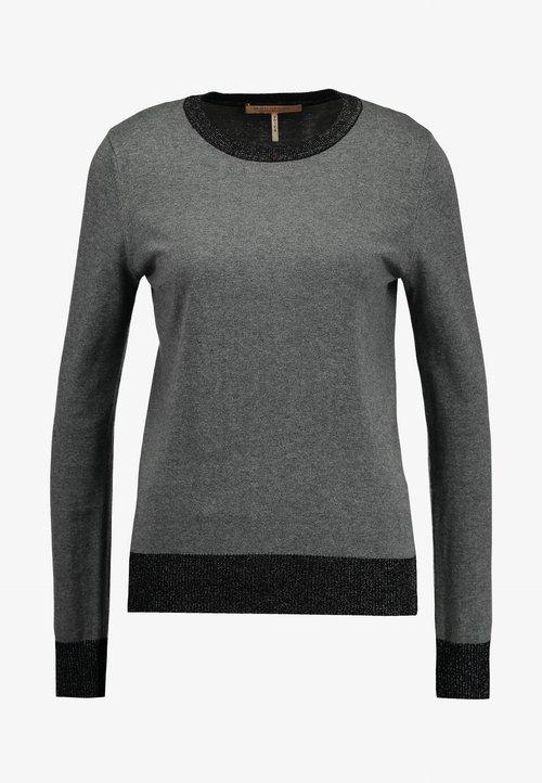 dobra jakość Scotch & Soda BASIC - Sweter - antra mela Odzież Damska TFVY-AI4