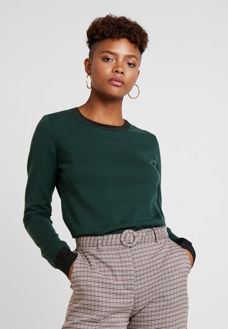 Scotch & Soda - BASIC - Strickpullover - forest green