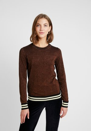 BASIC - Jumper - brown/light brown