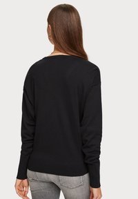 Scotch & Soda - V NECK - Trui - black - 2