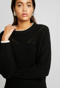 Scotch & Soda - CHUNKY - Jumper - black - 4