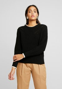 Scotch & Soda - CHUNKY - Jumper - black - 0