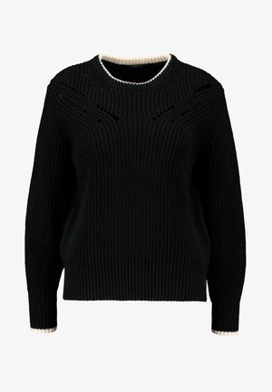 CHUNKY - Pullover - black