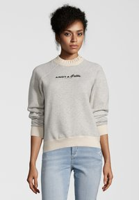 Scotch & Soda - MIT STICKEREI - Sweater - gray - 0