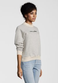 Scotch & Soda - MIT STICKEREI - Sweater - gray - 2