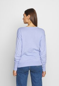 Scotch & Soda - LOOSE WITH NECK - Trui - sky blue - 2