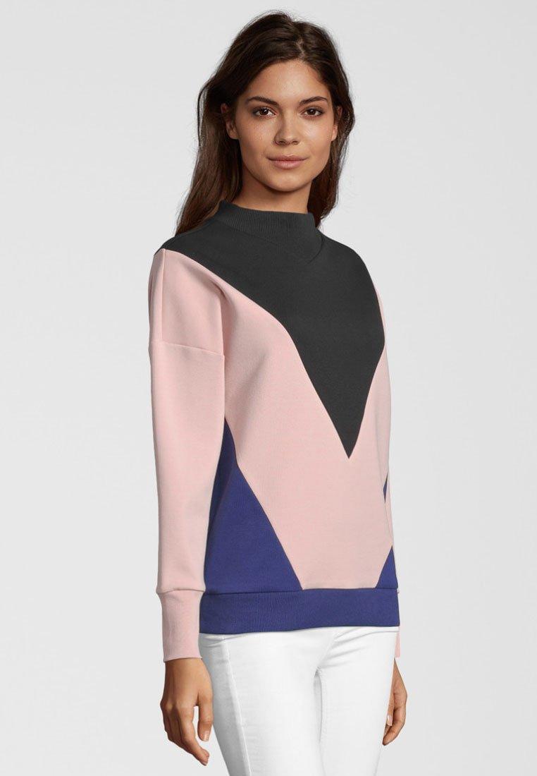 ColorblockingSweatshirt Soda Mit pink Black Scotchamp; 7gvYb6fy