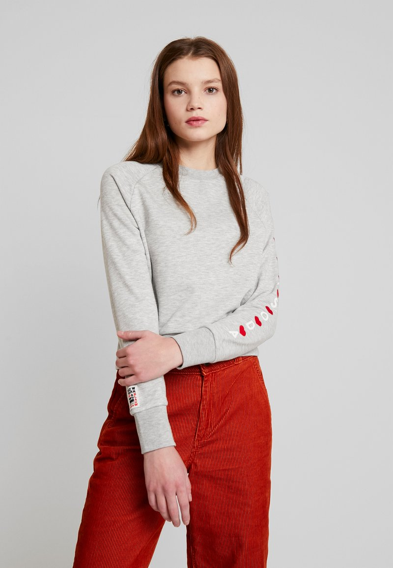 Scotch & Soda - SEASONAL ARTWORKS - Sweatshirt - grey