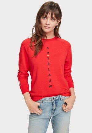 SEASONAL ARTWORKS - Sweater - red