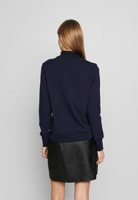 Scotch & Soda - ARTWORKS AND SPECIAL COLLAR - Sweater - navy - 2