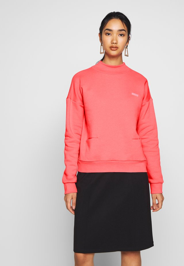 HIGH NECK  - Sweater - coral