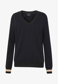 Scotch & Soda - V-NECK  - Sweatshirt - black - 4