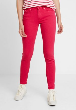 Jeansy Skinny Fit - pink pier