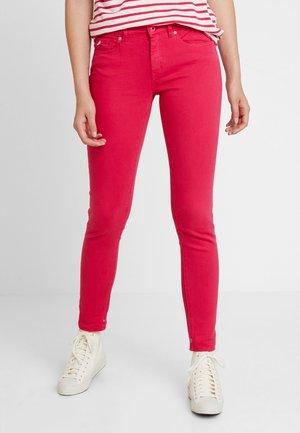Skinny džíny - pink pier