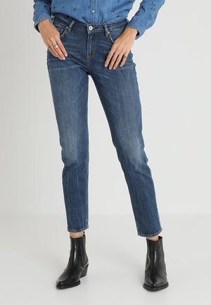 THE KEEPER - Slim fit jeans - mid wash