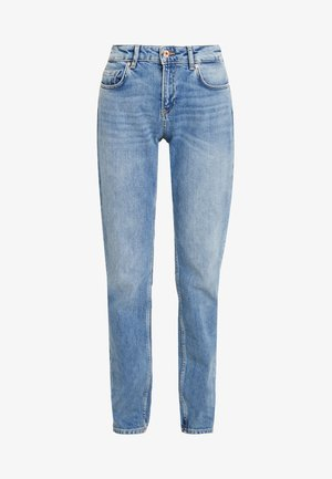 THE KEEPER - Slim fit jeans - light blue denim