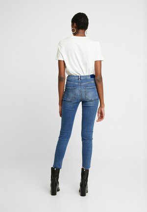 HAUT CROPPED - Jeans Skinny Fit - blue treasure