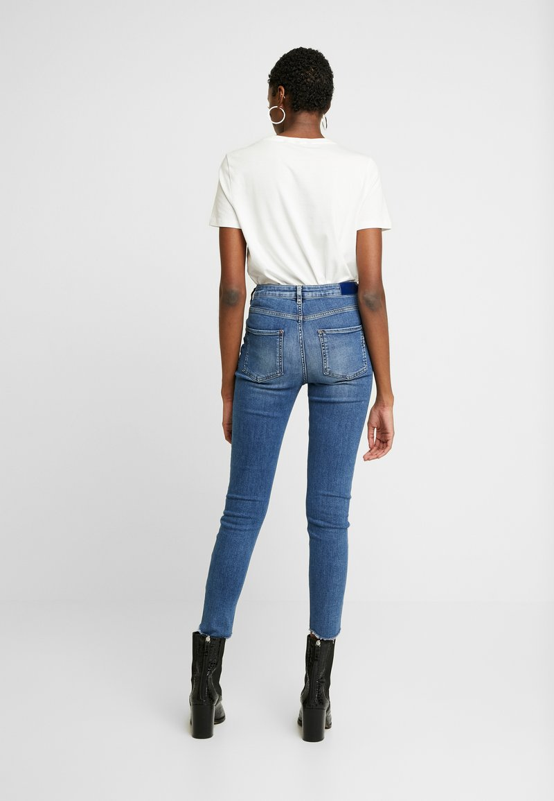 Scotch & Soda - HAUT CROPPED - Jeans Skinny Fit - blue treasure