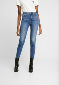 Scotch & Soda - HAUT CROPPED - Jeans Skinny Fit - blue treasure - 1