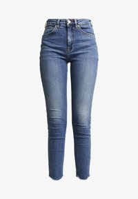 Scotch & Soda - HAUT CROPPED - Jeans Skinny Fit - blue treasure - 3