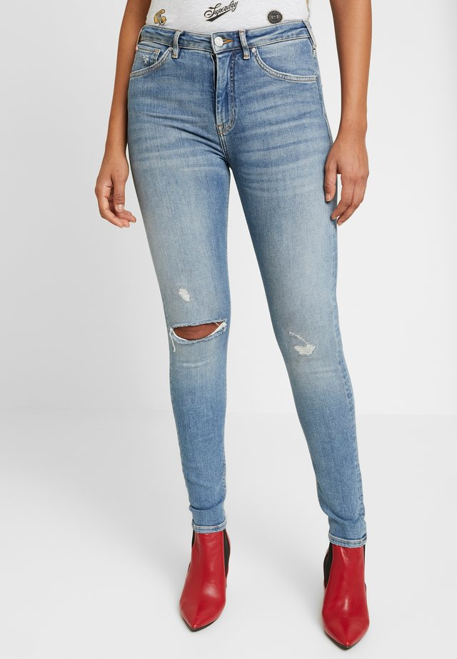 HAUT - Jeans Skinny Fit - underground blue