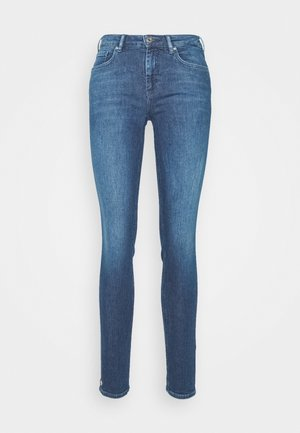 BOHEMIENNE CROPPED - Jeans Skinny Fit - blue