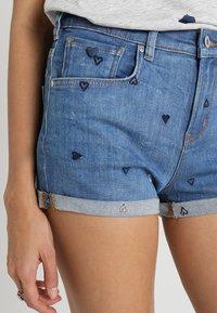 Scotch & Soda - FITTED - Denim shorts - positive blauw - 3