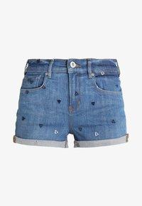 Scotch & Soda - FITTED - Denim shorts - positive blauw - 4