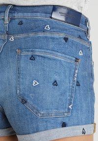 Scotch & Soda - FITTED - Denim shorts - positive blauw - 5
