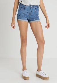 Scotch & Soda - FITTED - Denim shorts - positive blauw - 0