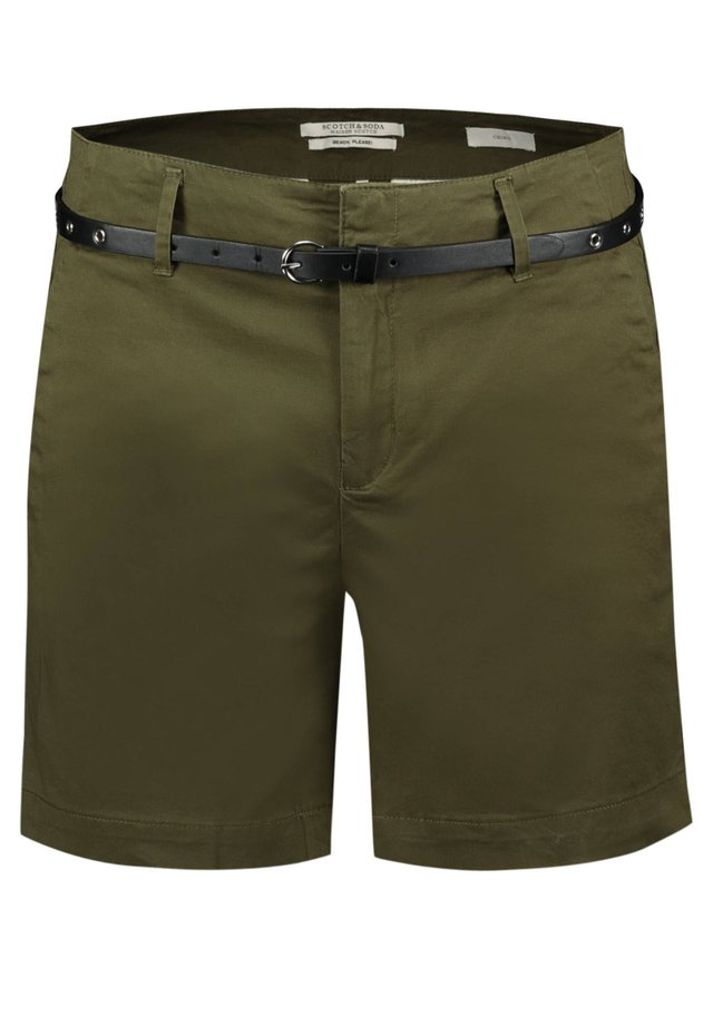WITH A BELT - Shorts - oliv (45)