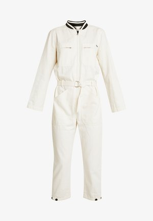 BRUTUS COLAB ALL IN ONE WITH BIG BACK EMBROIDERY - Jumpsuit - ecru