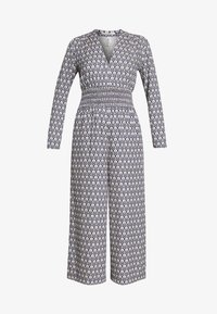 Scotch & Soda - ALLOVER PRINTED ALL IN ONE - Jumpsuit - blue/white - 3