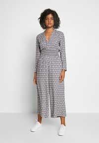 Scotch & Soda - ALLOVER PRINTED ALL IN ONE - Jumpsuit - blue/white - 0
